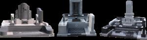 洋型・デザイン墓石・リフォーム工事にも対応が可能です