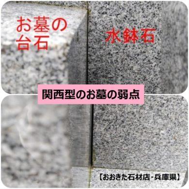 関西型のお墓の弱点【おおきた石材店・兵庫県】