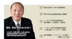講師・能島孝志のプロフィール