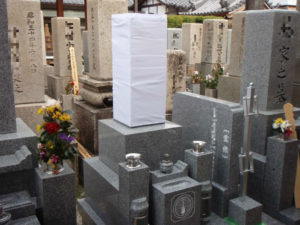 """""""納骨室に水が入らないお墓""""「信頼棺®」でお墓を建てて良かった"""